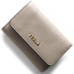 フルラ 三つ折り財布 財布 レディース バビロン BABYLON サッビアグレージュ PR76 B30 SBB 872820 FURLA