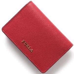 フルラ カードケース レディース バビロン ルビーレッド PS04 B30 RUB 903652 FURLA