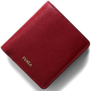 フルラ 二つ折り財布/ミニ財布 財布 レディース バビロン スモール チリエージャレッド PR74 B30 CGQ 922546 FURLA