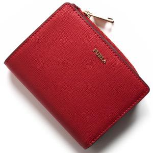フルラ 二つ折り財布 財布 レディース バビロン ルビーレッド PU75 B30 RUB 943513 FURLA