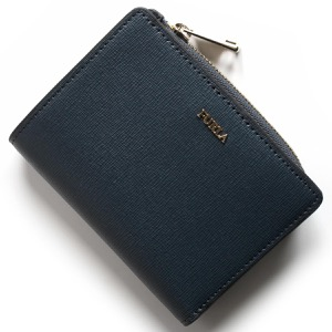 フルラ 二つ折り財布 財布 レディース バビロン アルデシアブルー PU75 B30 ZDG 978919 FURLA