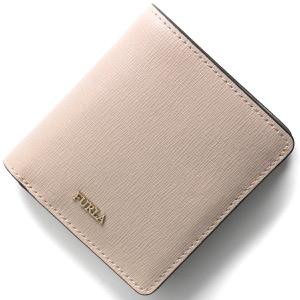 フルラ 二つ折り財布/ミニ財布 財布 レディース バビロン スモール ダリアピンクベージュ PR74 B30 TUK 992657 FURLA