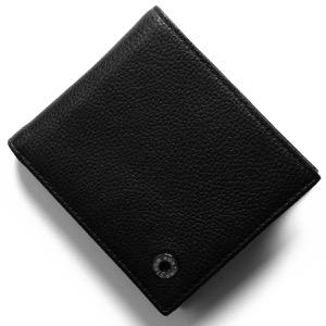 ハンティングワールド 二つ折り財布 財布 メンズ カシュガル ブラック 207 371A HUNTING WORLD