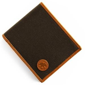 ハンティングワールド 二つ折り財布 財布 メンズ アドゥービ ダークブラウン&オレンジ 674 435 HUNTING WORLD