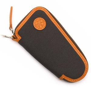 ハンティングワールド キーケース メンズ アドゥービ 【ADOBE】 ブラウン&オレンジ 678435 DBRORG HUNTING WORLD