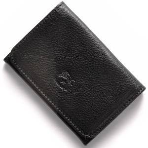 イルビゾンテ カードケース メンズ レディース スタンダード ブラック C0470 P 153 IL BISONTE