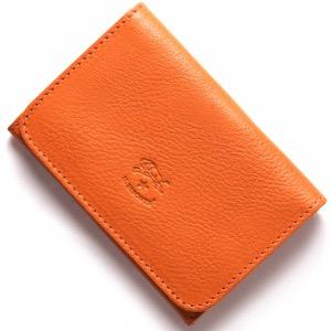 イルビゾンテ カードケース メンズ レディース スタンダード オレンジ C0470 P 166 IL BISONTE