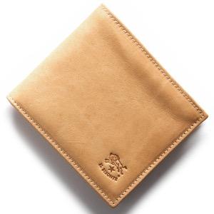 イルビゾンテ 二つ折り財布 財布 メンズ スタンダード STANDARD ナチュラル C0487 MP 120 IL BISONTE