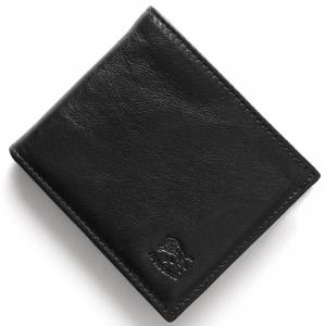イルビゾンテ 二つ折り財布 財布 メンズ スタンダード STANDARD ブラック C0487 MP 153 IL BISONTE