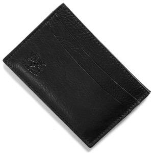 イルビゾンテ カードケース メンズ レディース スタンダード STANDARD ブラック C0567 P 153 IL BISONTE
