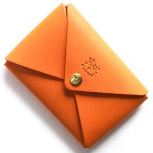 イルビゾンテ コインケース【小銭入れ】 財布 メンズ レディース スタンダード STANDARD オレンジ C0854 P 166 IL BISONTE