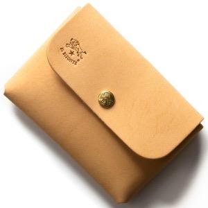 イルビゾンテ コインケース【小銭入れ】 財布 メンズ レディース スタンダード ナチュラルベージュ C0855 P 120 IL BISONTE