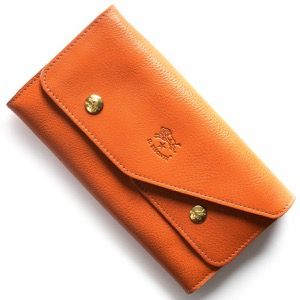 イルビゾンテ 長財布 財布 メンズ レディース スタンダード STANDARD オレンジ C0881 P 166 IL BISONTE