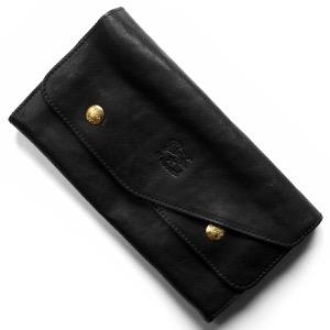 イルビゾンテ 長財布 財布 メンズ レディース ブラック C0881 PO 798 IL BISONTE