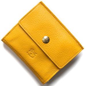イルビゾンテ 二つ折り財布 財布 メンズ レディース スタンダード スプーマイエロー C0910 EP 978 IL BISONTE