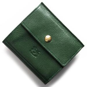 イルビゾンテ 二つ折り財布 財布 メンズ レディース スタンダード STANDARD グリーン C0910 P 293 IL BISONTE