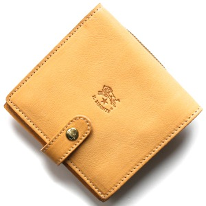 イルビゾンテ 二つ折り財布 財布 メンズ レディース スタンダード ナチュラルベージュ C0962 P 120 IL BISONTE