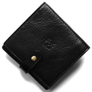 イルビゾンテ 二つ折り財布 財布 メンズ レディース スタンダード ブラック C0962 P 153 IL BISONTE