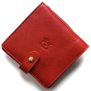 イルビゾンテ 二つ折り財布 財布 メンズ レディース スタンダード ロッソレッド C0962 P 245 IL BISONTE