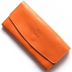 イルビゾンテ 長財布 財布 メンズ レディース スタンダード STANDARD オレンジ C0973 P 166 IL BISONTE