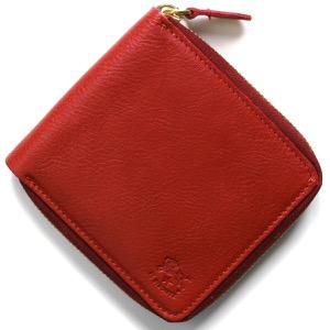 イルビゾンテ 二つ折り財布 財布 メンズ レディース スタンダード ロッソレッド C0990 P 245 IL BISONTE
