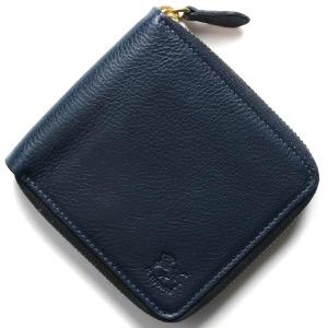 イルビゾンテ 二つ折り財布 財布 メンズ レディース スタンダード ブルー C0990 P 866 IL BISONTE