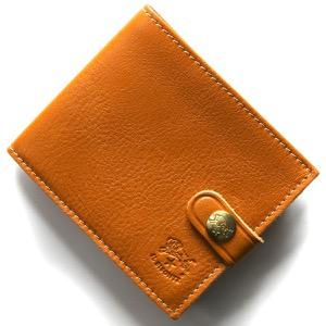 イルビゾンテ 二つ折り財布 財布 メンズ レディース スタンダード ?キャラメルブラウン C1007 P 145 IL BISONTE