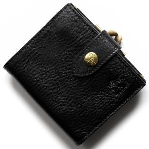 イルビゾンテ 二つ折り財布/ミニ財布 財布 メンズ レディース スタンダード ブラック C1033 P 153 IL BISONTE