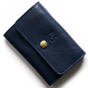 イルビゾンテ コインケース【小銭入れ】/二つ折り財布 財布 レディース リバティ 星柄 ブルー C1064 LL 906 IL BISONTE
