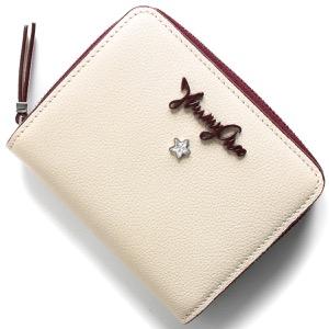 ジミーチュウ 二つ折り財布 財布 レディース アニス リネンホワイト ANISE GFH 183 LINEN JIMMY CHOO
