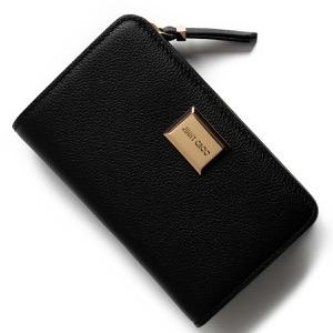 ジミーチュウ 二つ折り財布 財布 レディース マーシャ ブラック MARCIA GFH 183 BLACK 2019年春夏新作 JIMMY CHOO