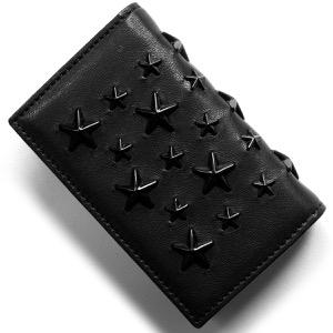 ジミーチュウ カードケース メンズ レディース ネロ NELLO ブラック NELLO ENL BLK JIMMY CHOO