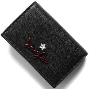 ジミーチュウ カードケース/名刺入れ レディース ズリ ブラック ZURI GFH 183 BLACK JIMMY CHOO