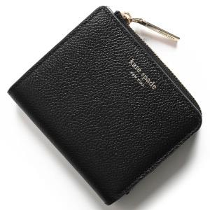 ケイトスペード 二つ折り財布/ミニ財布 財布 レディース マルゴー スモール ブラック PWRU7160 001 KATE SPADE