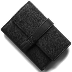 ロエベ三つ折り財布 財布 レディース バーティカル ブラック 124 S86 12 1100 2020年春夏新作