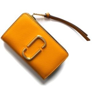 マークジェイコブス 二つ折り財布 財布 レディース スナップショット ゴールデンポッピーマルチ M0013356 751 2019年秋冬新作 MARC JACOBS