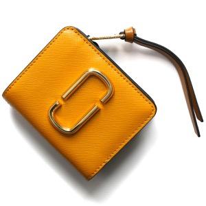 マークジェイコブス 二つ折り財布/ミニ財布 財布 レディース スナップショット ゴールデンポッピーマルチ M0013360 751 MARC JACOBS