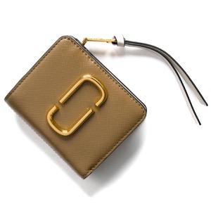 マークジェイコブス 二つ折り財布 財布 レディース スナップショット ダブルJロゴ フレンチグレイマルチ M0014282 064 2019年春夏新作 MARC JACOBS