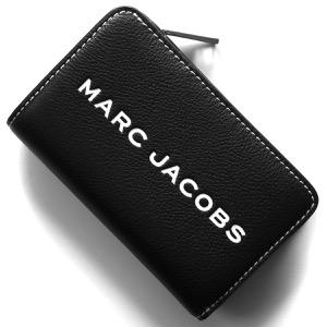 マークジェイコブス 二つ折り財布 財布 メンズ レディース ザ タグ ブラック M0014869 001 2019年春夏新作 MARC JACOBS