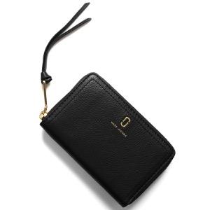 マークジェイコブス 二つ折り財布 財布 レディース ザ ソフトショット スモール ブラック M0015358 001 2019年秋冬新作 MARC JACOBS