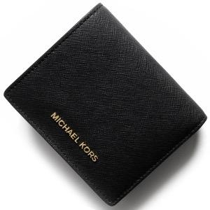 マイケルコース 二つ折り財布【札入れ】/名刺入れ 財布 レディース マネー ピーシーズ MONEY PIECES ブラック 32T4GTVF2L 001 MICHAEL KORS
