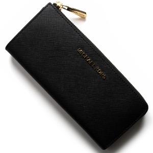 マイケルコース 長財布 財布 レディース ジェット セット トラベル ブラック 35H7GTVE7L 001 MICHAEL KORS