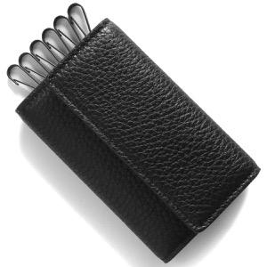 メゾンマルジェラ キーケース メンズ レディース ステッチ ブラック S55UA0026 P2686 H1669 MAISON MARGIELA