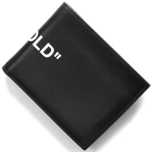 オフホワイト 二つ折り財布 財布 レディース クォーテ バイフォールド ブラック OMNC008E198530581001 OFF-WHITE