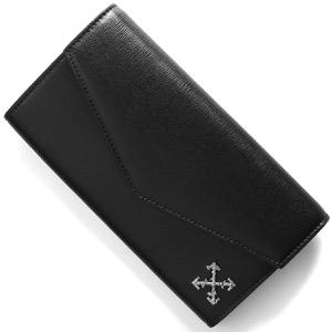 オフホワイト 長財布 財布 メンズ スカルプチャー ロング クロス ブラック OWNC011S194230691001 OFF-WHITE