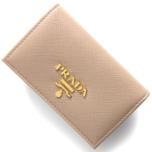 プラダ カードケース レディース サフィアーノ メタル チプリアピンクベージュ 1MC122 QWA F0236 2021年春夏新作 PRADA