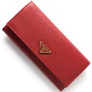 プラダ 長財布 財布 レディース SAFFIANO TRIANG 三角ロゴプレート フォーコレッド 1MH132 QHH F068Z PRADA