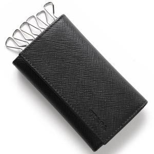 プラダ キーケース メンズ SAFFIANO ブラック 2PG222 053 F0002 PRADA