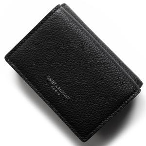 サンローランパリ イヴサンローラン 三つ折り財布/ミニ財布 財布 レディース ブラック 459784 B680N 1000 SAINT LAURENT PARIS