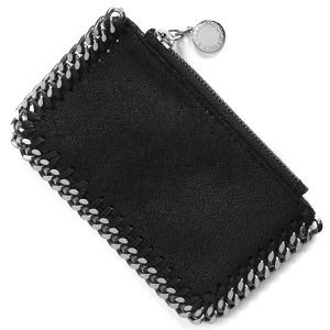 ステラマッカートニー コインケース(小銭入れ)/カードケース 財布 レディース ファラベラ ブラック 422364 W9132 1000 STELLA McCARTHNEY